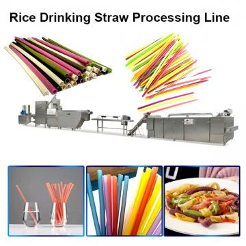 Degradable Drinking Straw Machinery / Crazy Straws Disposable Straws Line
