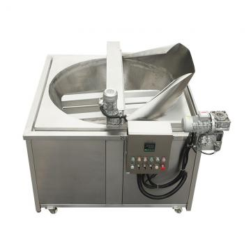China Supplier Stainless Steel industrial Double 17L Tank LPG Gas Deep Fryer
