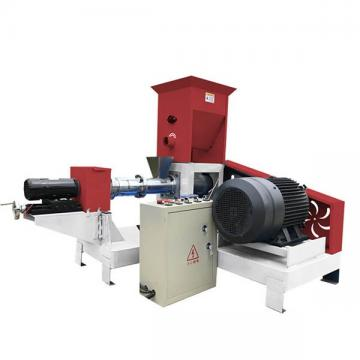 Fish Food Sinking Floating Fodder Pellet Extruding Making Line Machine