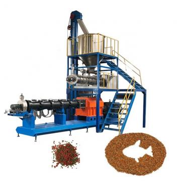 Multi-Function Fish Feed Pellet Flavoring Machine Floating & Sinking Fish Food Making Extruder
