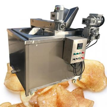 Industrial Automatic Falafel Potato Chip Continuous Belt Fryer