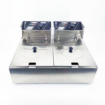 16L Table Top Stainless Steel Electric Potato Chips Deep Fat Fryer on Sale