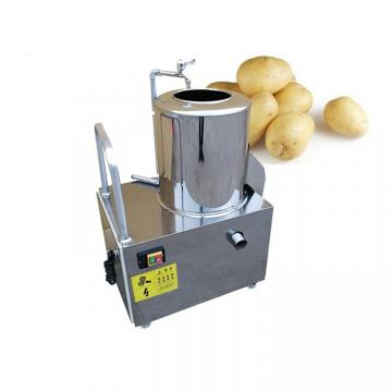 Industrial Stainless Steel Brush Roller Potato Washing / Peeling Machine