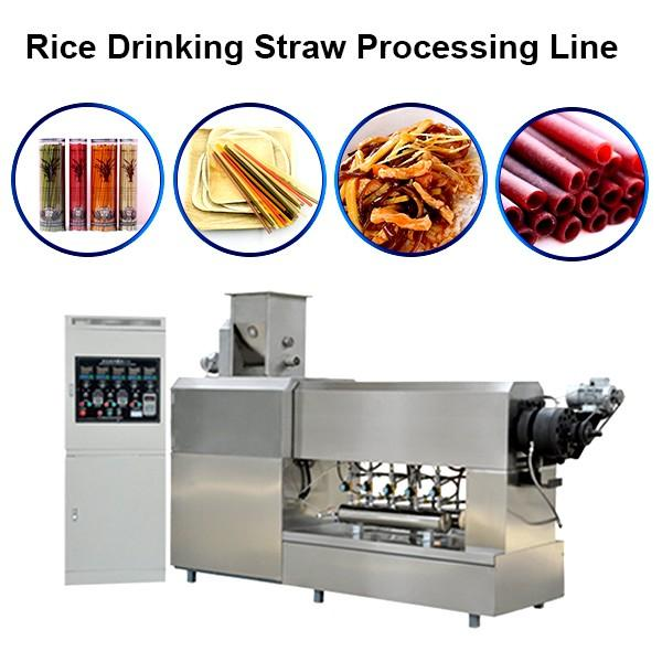 Stainless Steel Automatic High Speed Multi Cutter Colorful Biodegradable Paper Drinking Straw Making Machine #1 image
