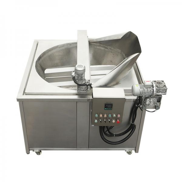 China Supplier Stainless Steel industrial Double 17L Tank LPG Gas Deep Fryer #1 image