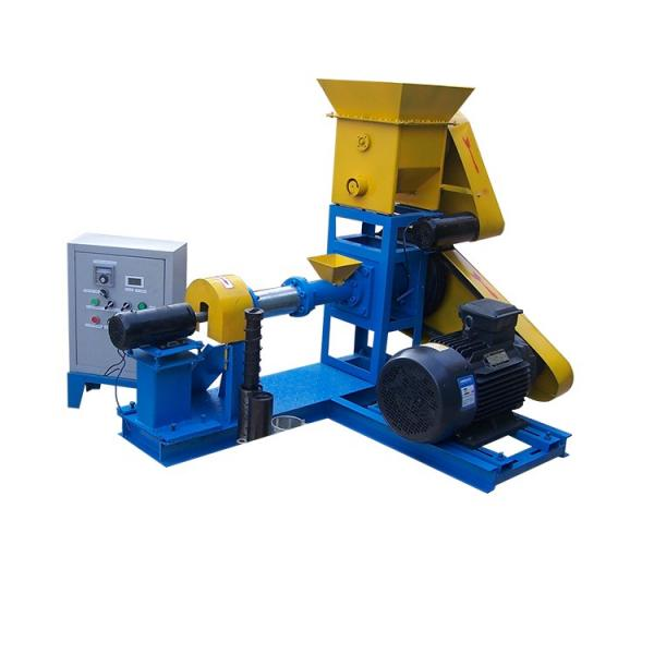 Floating Fish Feed Pellet Production/Extruder Machine Price #1 image