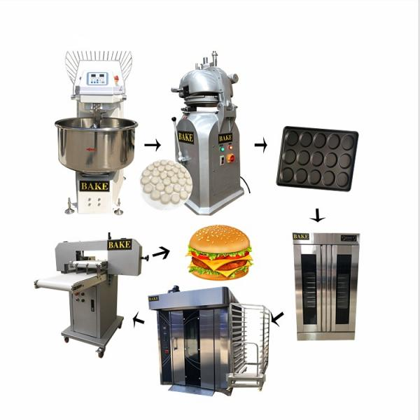 Automatic /Semiautomatic Industrial Baguette Bread Production Line China Factory #1 image