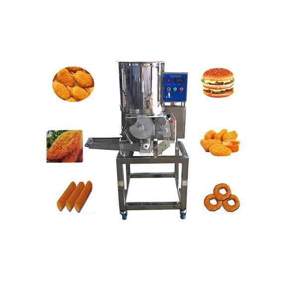 Vegetarin Vegan Chicken Hamburger Process Line #1 image