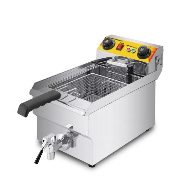 Professional Best Stainless Steel Big Chip Continuous Deep Fryer #1 image