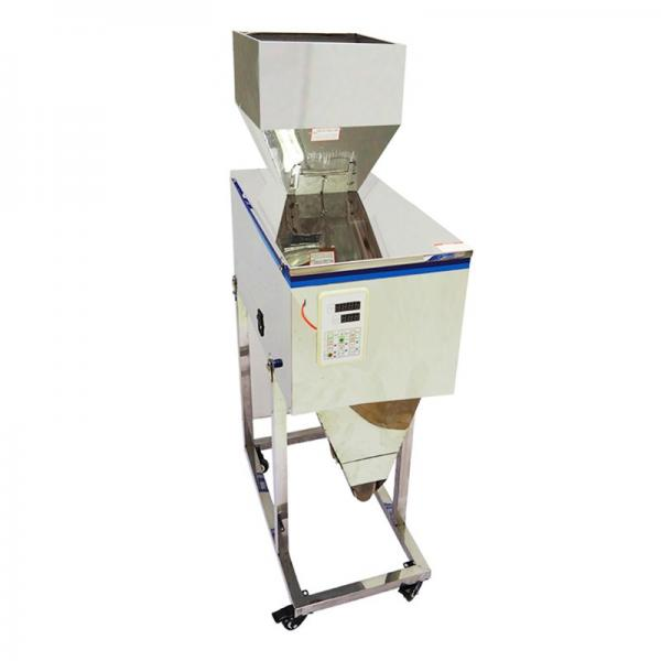 Semi Automatic Seeds Beans Rice Sugar Nut Weigh Dispensing Filling Packaging Machine #1 image