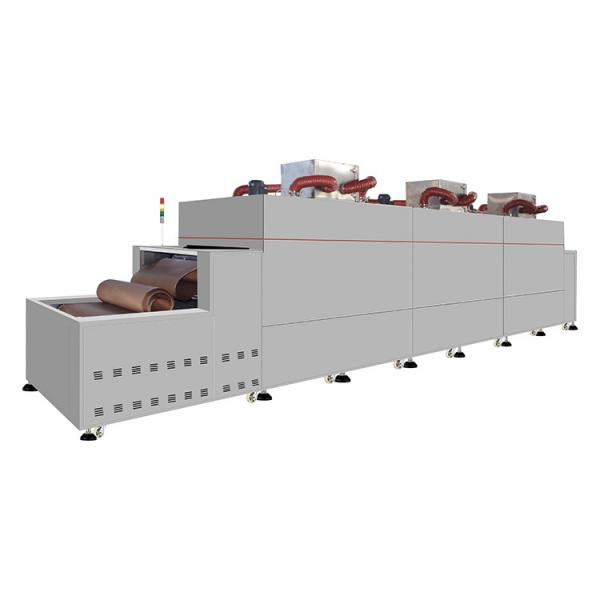 Hot Air Hemp Conveyor Mesh Belt Dryer Machine #3 image