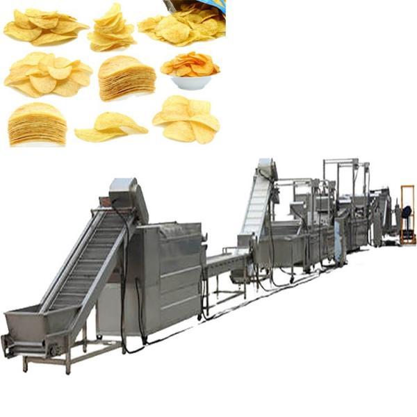 Automatic Wave Potato Chips Shaping Frying Potato Fries Making Machine #3 image
