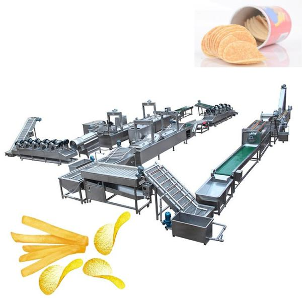 Automatic Wave Potato Chips Shaping Frying Potato Fries Making Machine #2 image