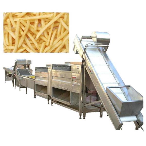 Automatic Wave Potato Chips Shaping Frying Potato Fries Making Machine #1 image